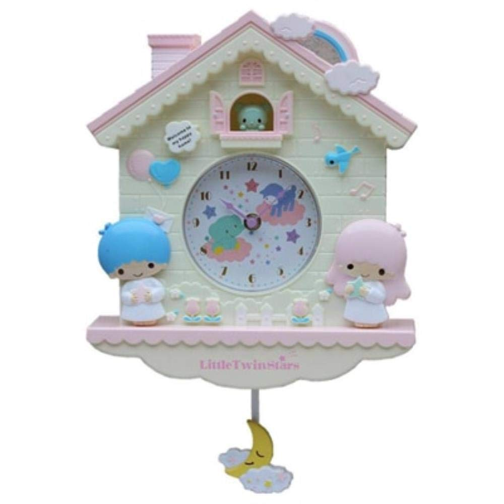 12 inch Cartoon My Melody Swing Kids Girls Wall Quartz Clock Home Decro for Bedroom Liveroom 2019 Products,Hello Kitty