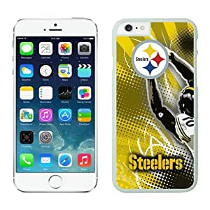 NFL Pittsburgh Steelers iPhone 6 Cases 21 White 4.7 Inches NFLIphone6Cases14160