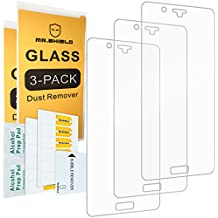 [3-PACK]- Mr Shield For Nokia 8 [Tempered Glass] Screen Protector [0.3mm Ultra Thin 9H Hardness 2.5D Round Edge] with Lifetime Replacement Warranty