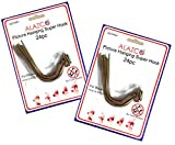 48pc Set ALAZCO Super Hooks - Hang Pictures Without Any Tool, Hammer, Nails or Drilling! Excellent Quality
