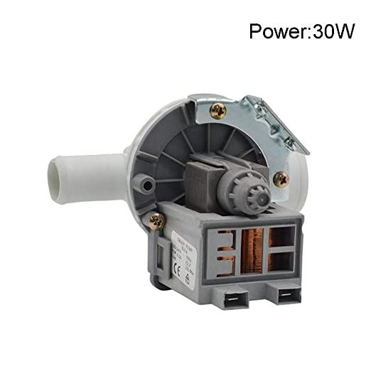 GCDN Motor de Bomba de Drenaje Universal para Lavadora, Tambor de ...