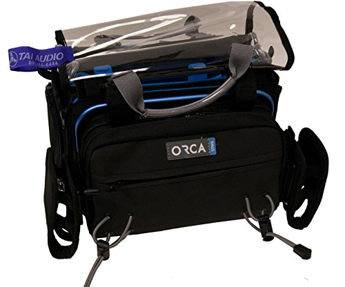 Orca OR-34 Audio Bag w/ TAI Audio Cable Strap by Orca