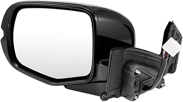 ECCPP Driver Side Mirror Left Side Rear View Mirror Power Heated Turn Signal Light Manual Folding Memory Door Mirror Replacement fit for 2016 Honda Pilot