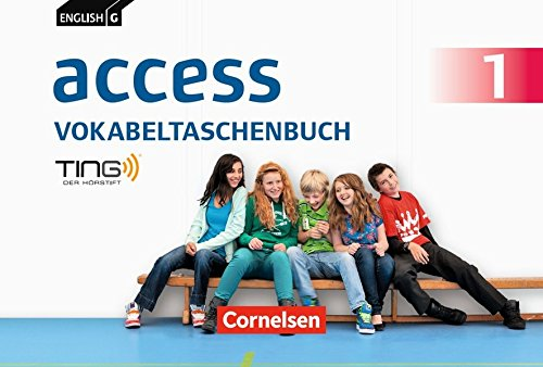 English G Access - Allgemeine Ausgabe: Band 1: 5. Schuljahr - Vokabeltaschenbuch: TING-fähig