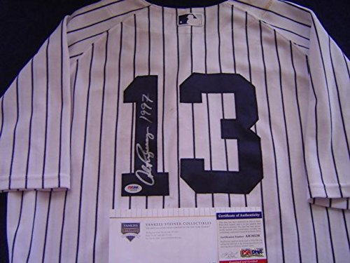 (New York Yankees Alex Rodriguez Game Used Signed 1997 Rbi Bonds Jersey - Steiner Sports Certified - MLB Game Used Jerseys)