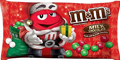 M&M's Milk Chocolate Candy for the Holidays, 11.4 Ounce Bag