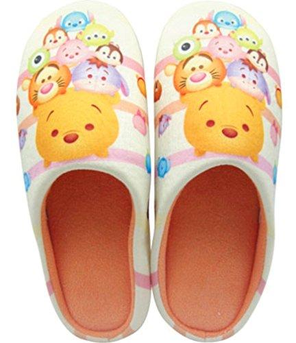 Tsum Tsum Winnie the Pooh Bedroom Soft Warm Slippers Anti Skid