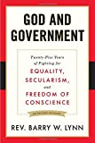 download ebook god and government: twenty-five years of fighting for equality, secularism, and freedom of conscience pdf epub