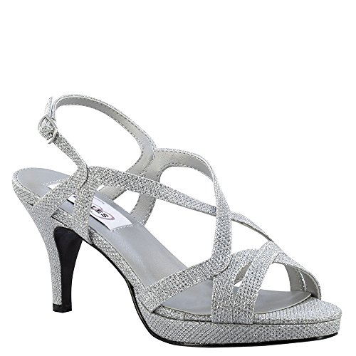 Chloe Touch Women's 5 W Silver Ups Shimmer 7 Pump 6EEqOrw