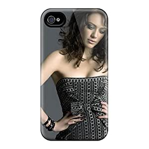 Iphone Case - Tpu Case Protective For Iphone 4/4s- Hilary Duff 43
