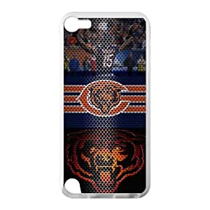 Hoomin Fashion Cool Chicago Bears Ipod Touch 5 Cell Phone Cases Cover Popular Gifts(Laster Technology)