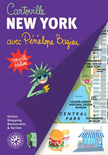 Cartoville New York avec Pénélope Bagieu (French Edition)