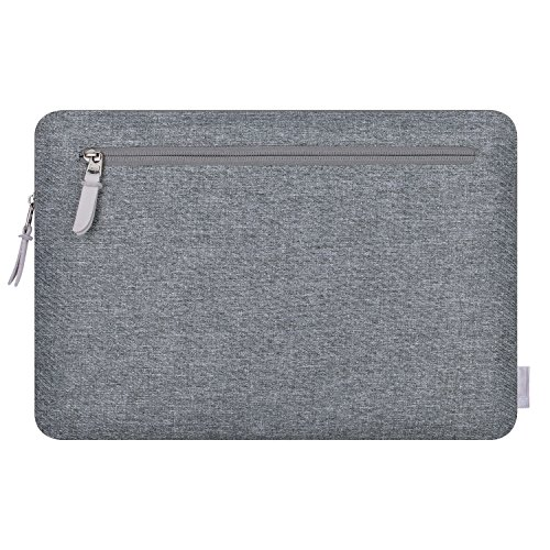 Comfyable Laptop Sleeve for 13-13 3 Inch New MacBook Pro (2016-2019),  MacBook Air 2018 A1932 with Pocket- Waterproof Mac Cover Case - Dark Gray