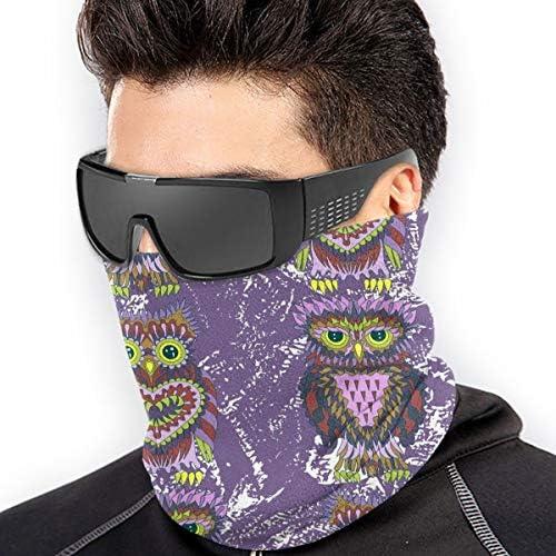 Bright Owls ネックカバー 男女兼用 バンダナ ゴルフウエア フェイスガード 多機能 日よけ サイクリングカバー