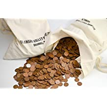 2500 P-S-D Bag of Lincoln Wheat Cents 1959 and Earlier Circulated
