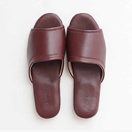 Chaussons ZZHF de 38 Chaussons C à Femmes Chaussons Quatre 39 de pour Saisons l'intérieur Option Chaussons Chaussures antidérapants Facultative Taille Sol à B Couleurs Couleur 3 Taille en rd14xXr