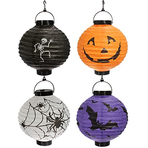 Lights & Lighting - Hanging Portable/Foldable Paper Lantern Halloween Party Decorations - Hanging Foldable Cosmetic Organizer Bag Toiletry Travel Mesh Laundry Door Clothes Hanger - Foldable - 1PCs (Christmas An On Essay Party)