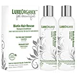 Biotin Shampoo And Conditioner for Hair Growth; Soothes Dry Itchy Scalp With Tea Tree Mint Rosemary Oils. Natural Daily Hair Treatment. Anti Dandruff Sulfate & Paraben Free, Keratin & Color Safe (USA)