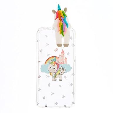 quality design ab27a da3d9 Claire's Girl's Peek A Boo Unicorn iPod Touch 5/6 Case Clear ...