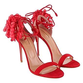 Aquazzura - Zapatos de Vestir para Mujer Rojo 35 Rojo 35