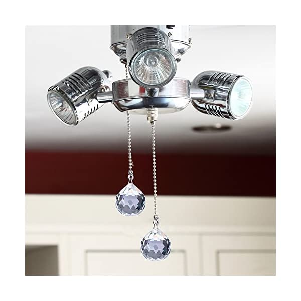 Hestya-2-Sets-Clear-Crystal-Pull-Chain-Extension-with-Connector-for-Ceiling-Light-Fan-Chain-1-Meter-Length-Each-Style-A