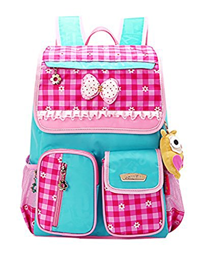 JiaYou Kid Princess Style School Bag Backpack