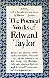 The Poetical Works of Edward Taylor 9780691012759