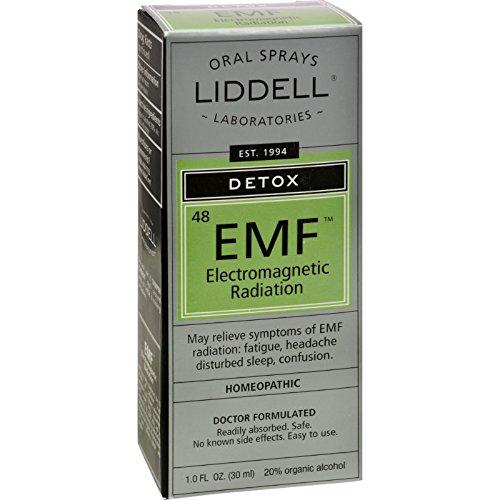 Liddell Homéopathiques Anti-Tox EleCenteromagnetic des Radiations électromagnétiques - 1 fl oz (Pack de 4)