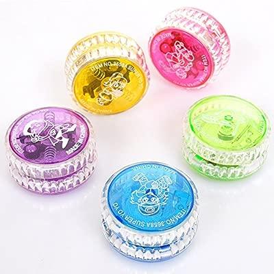 Faironly Yo-Yo Ball - Pelota Luminosa LED para niños, Regalo de ...