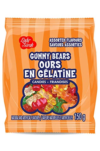 Lady Sarah Gummy Bears Assorted Flavours 120G