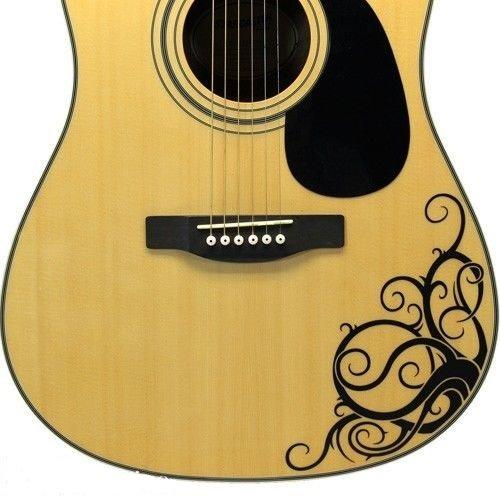 Vinilo adhesivo para MacBook de Vine - de guitarra acústica: Amazon.es: Instrumentos musicales