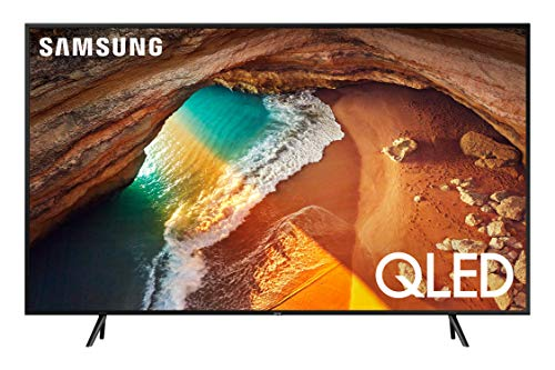 Samsung QN55Q60RAFXZA Flat 55-Inch QLED 4K Q60 Series Ultra HD Smart TV with HDR and Alexa Compatibility (2019 Model)