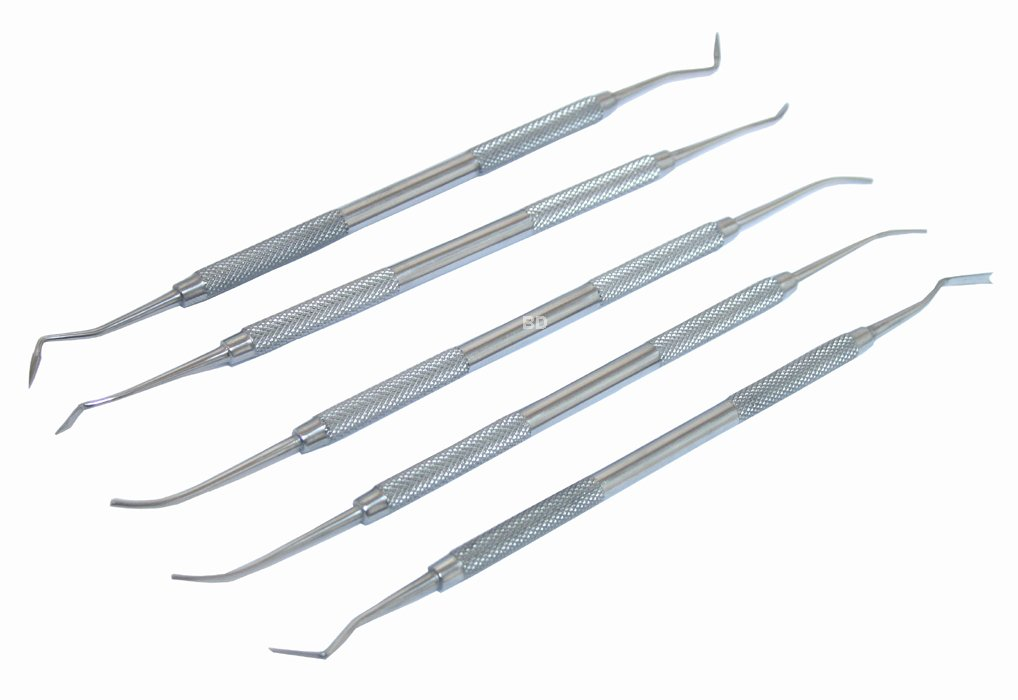 5 pc PK Thomas Dental Instruments set Life gears