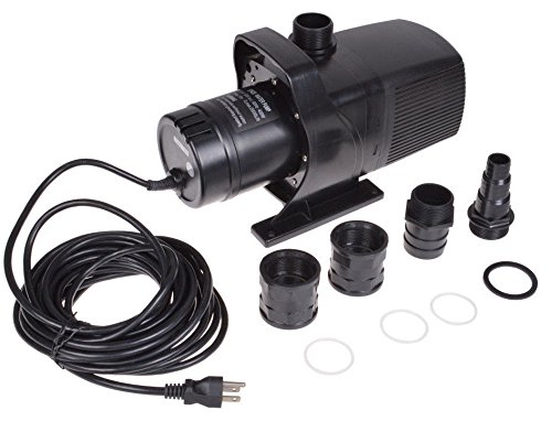 Submersible Pond Pump Water Fountain Sump Waterfall FishPond Pool Pump 5283 GPH by Eight24hours