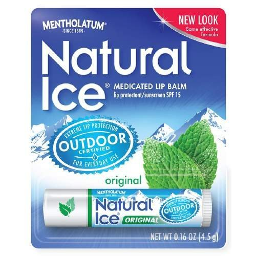 Mentholatum Natural Ice Lip Balm Original SPF