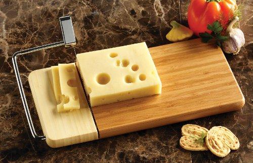 "Prodyne 126-B Bamboo Cheese Slicer, 12"" x 6"""
