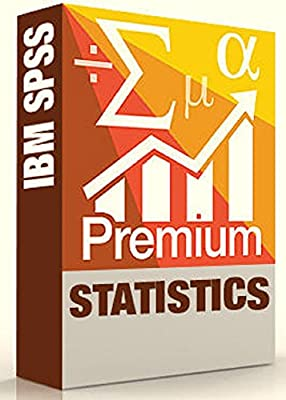 IBM SPSS Statistics Grad Pack Premium V24.0 12 Month License for 2 Computers Windows or Mac
