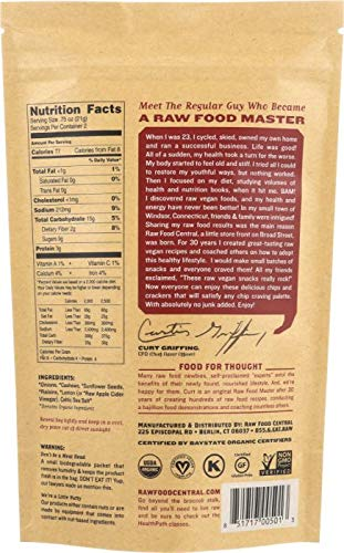 RAW FOOD CENTRAL: Onion Rings Kurts Classic, 1.5 Oz-6 PACK