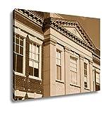 Ashley Canvas Catholic School United States, Wall Art Home Decor, Ready to Hang, Sepia, 16x20, AG6305896