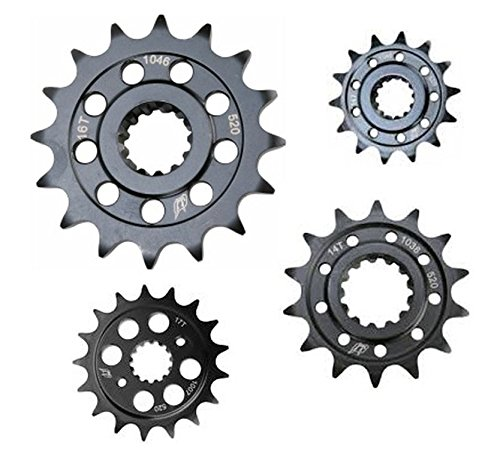 (Driven Products 520 Steel Front Sprocket 17T Natural)