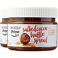 Wickedly Prime Salted Cocoa Truffle Spread with Natural Caramel Flavor, 13.2 Ounce (Pack of 2)