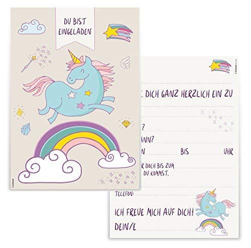 12 tarjetas de invitación