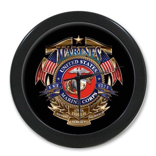 marine corps wall clock