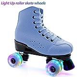 mafffoliverr Roller Skate Wheels Luminous Light