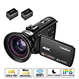 Best Video Camcorders - 4K Camcorder,CofunKool 48MP Ultra HD 60FPS WiFi Digital Review