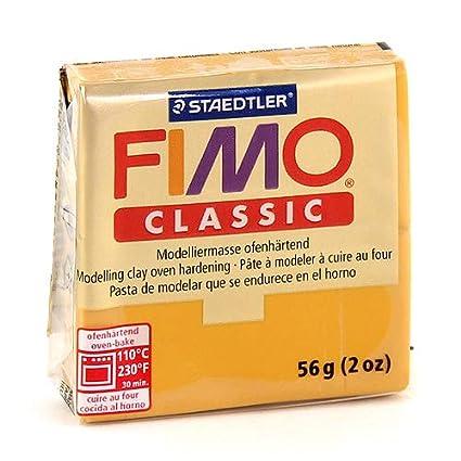 Staedtler 8001-77 - Pasta per modellare Fimo professional, 350 g, colore cioccolato (schokolade) 8001-77 ST