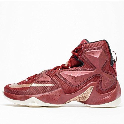 Nike Mens Lebron13 Laget Red / 807.219 Till 690