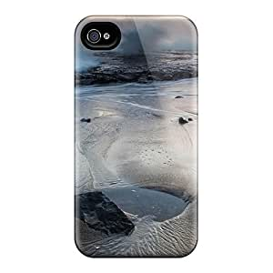 Durable Protector Case Cover With Greyhound Rock County Park Breakers Hit The Rocky Shelf Hot Design For Iphone 4/4s