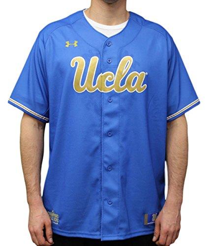 Under Armour UCLA Bruins NCAA Men's Baseball Jersey - Blue ()