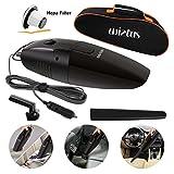 Wietus 12V, 75W Portable Handheld Car Vacuum Cleaner-Cleaner Dustbuster Hand Vacuum with a Portable Bag and 14.8 FT(4.5M) Power cord(P/N:145)